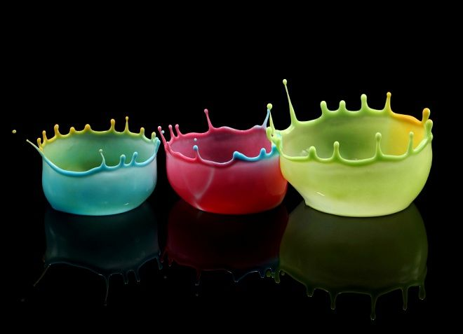 Water crowns